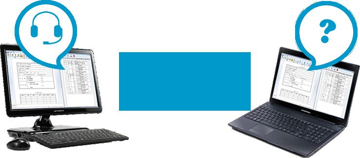 リモート接続のイメージ図